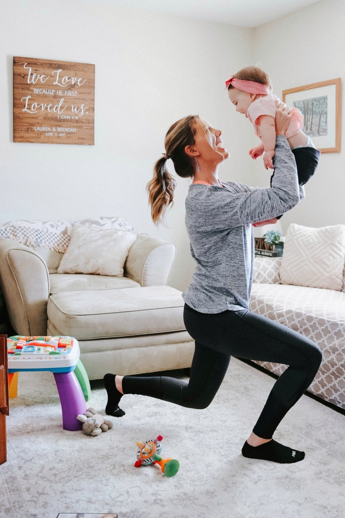 tips for staying active stay at home mom